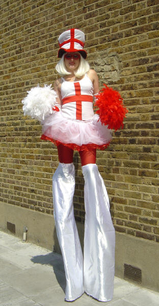 St. George stiltwalker