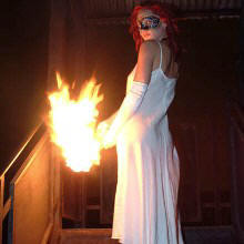 Fire brand masked ball