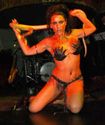 Snake Dancer for cabaret, burlesque shows, parties corporate events etc...