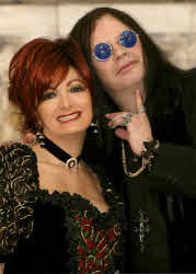 Ozzy and Sharon Osbourne lookalikes