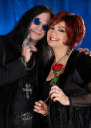 Lookalike duo Ozzy and Sharon Osbourne