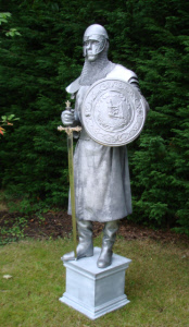 Human Statues - Medieval soldier
