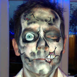 Zombie, face painting