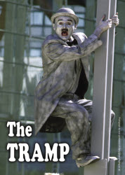 Human Statue - The Tramp