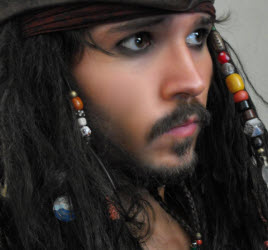 Lookalike Jack Sparrow