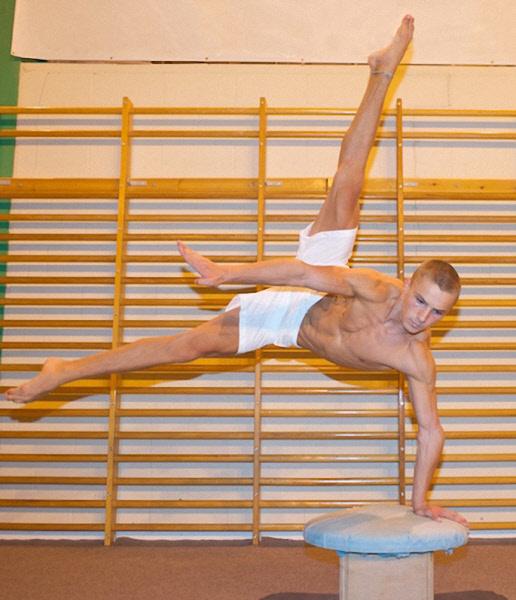 Male acrobat